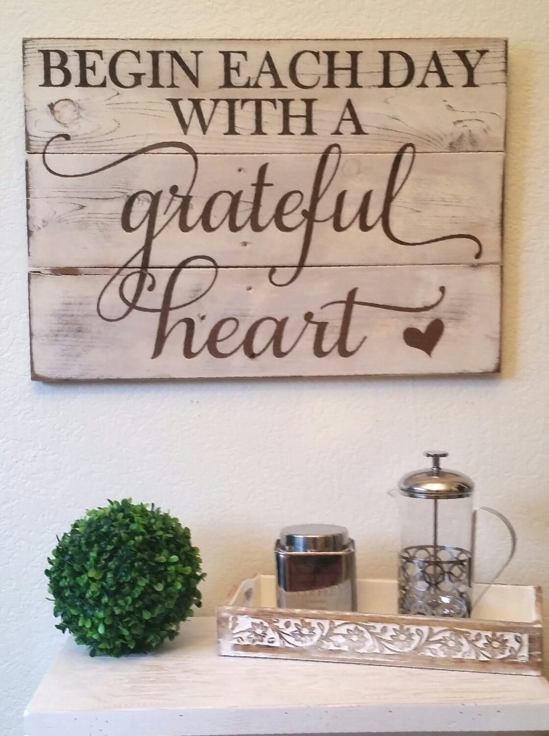 Aspirational Rustic Wood Sign Ideas with Inspirational Quotes