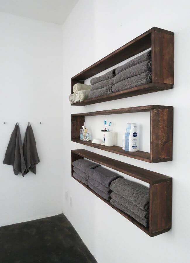 Individual Dissembled Crate Shelves