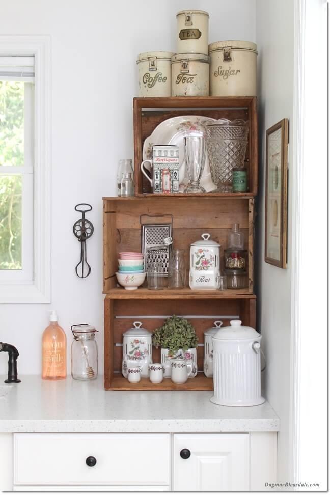 11 Vintage Kitchen Design Decor Ideas Homebnc Rina Watt Blogger Home Diy And Recipes