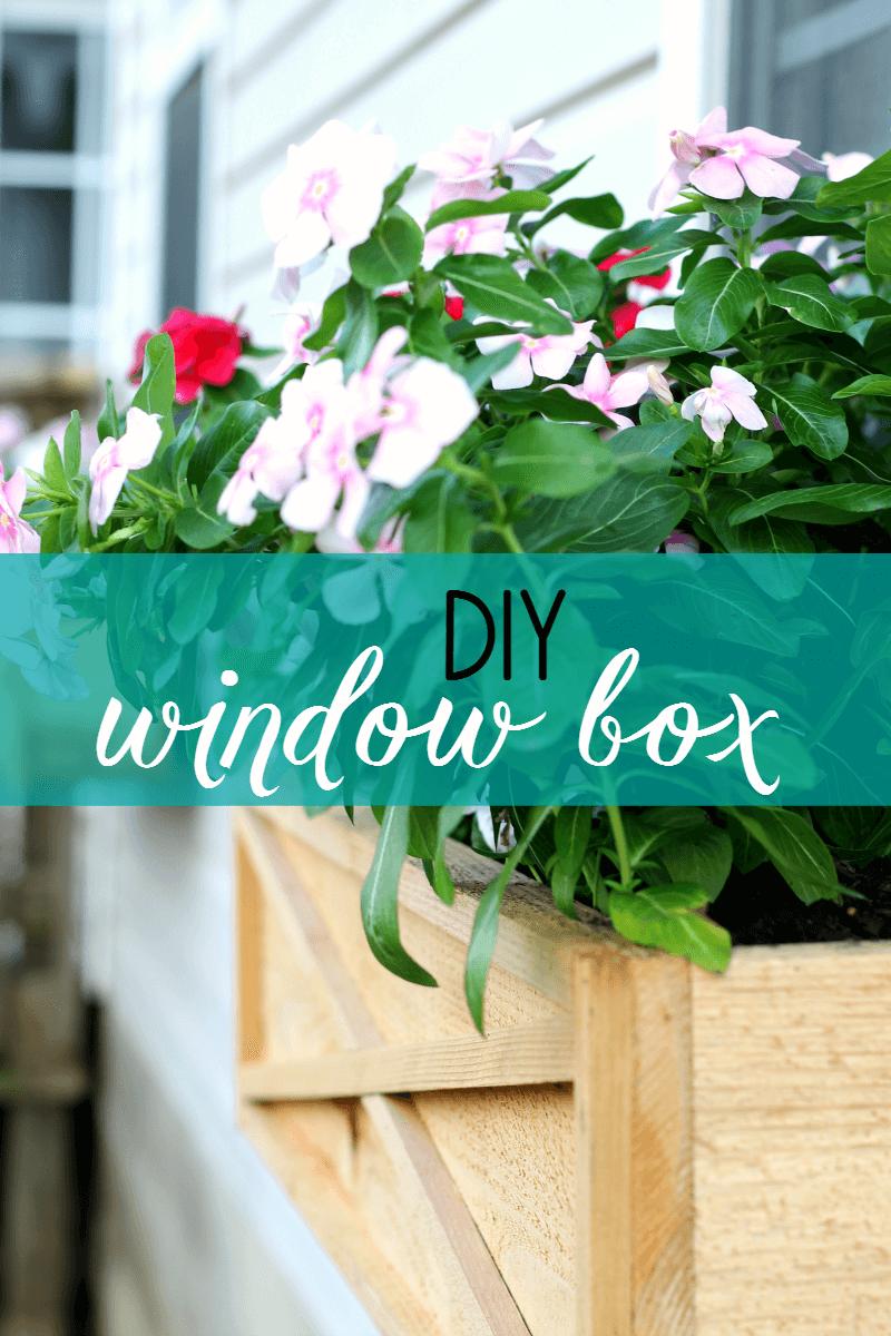 Raw Wood Barn Door Design Window Box
