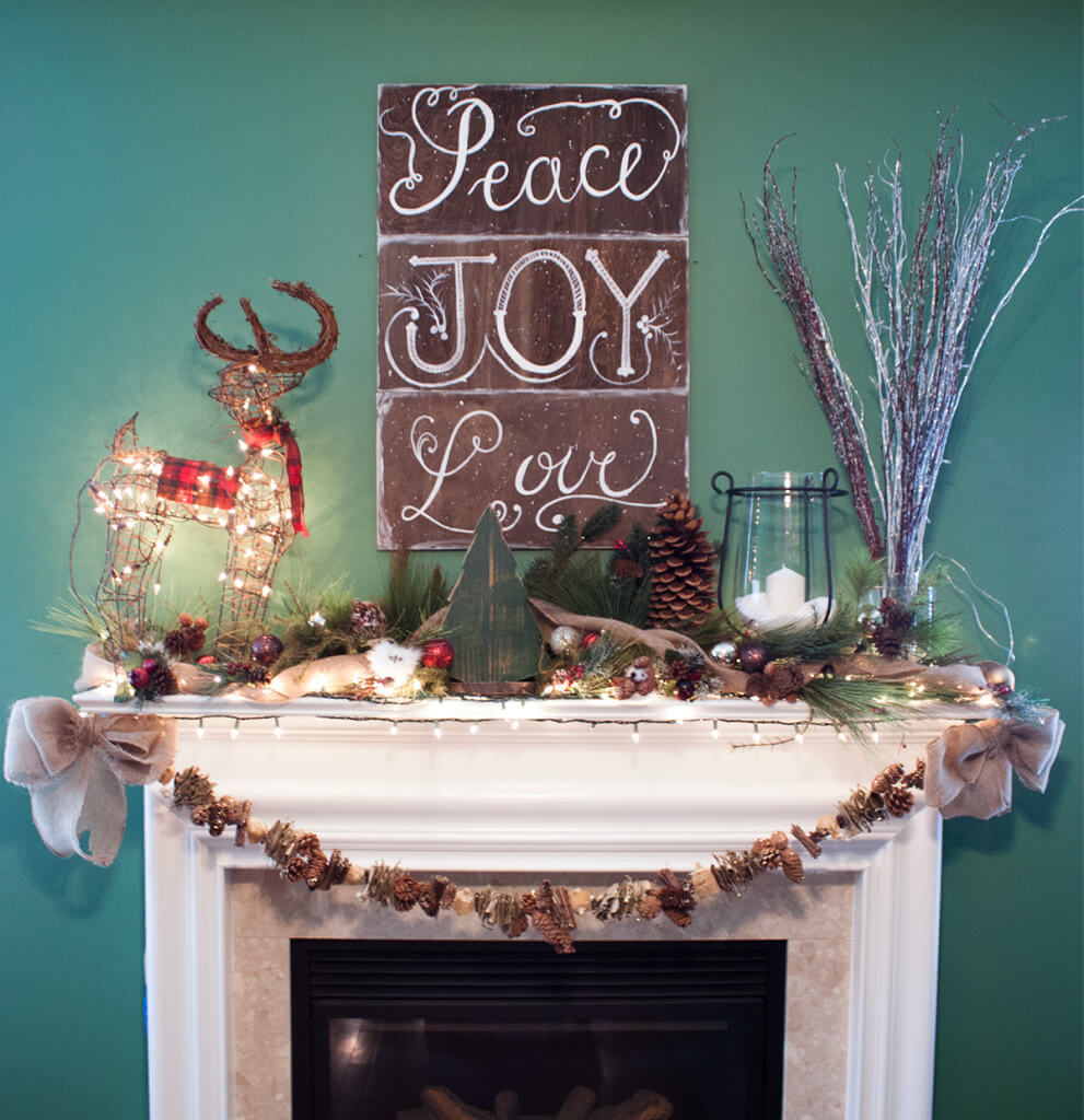Bring Winter Indoors with Natural Decorations