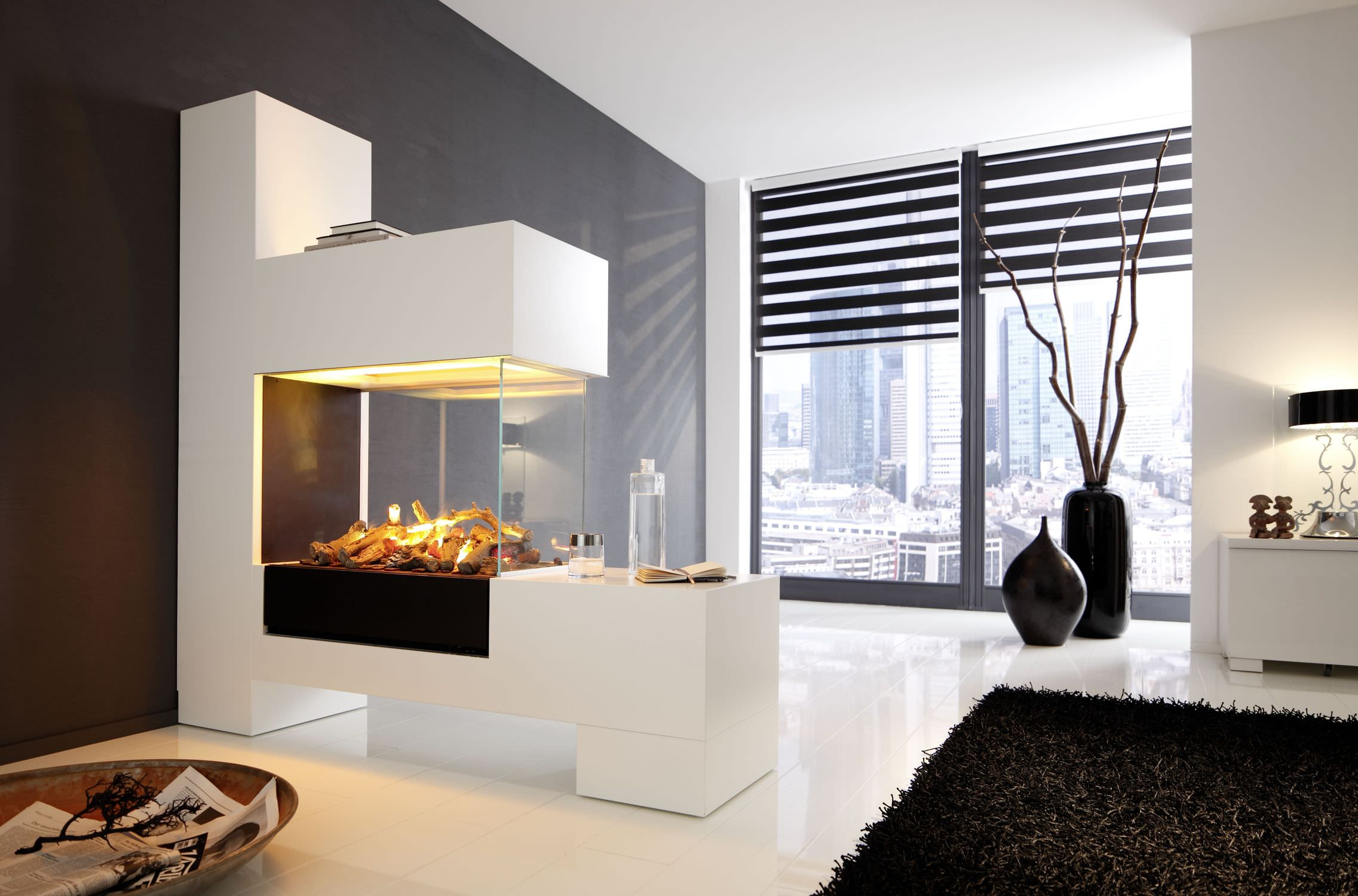 Clean and Simple Fireplace Idea