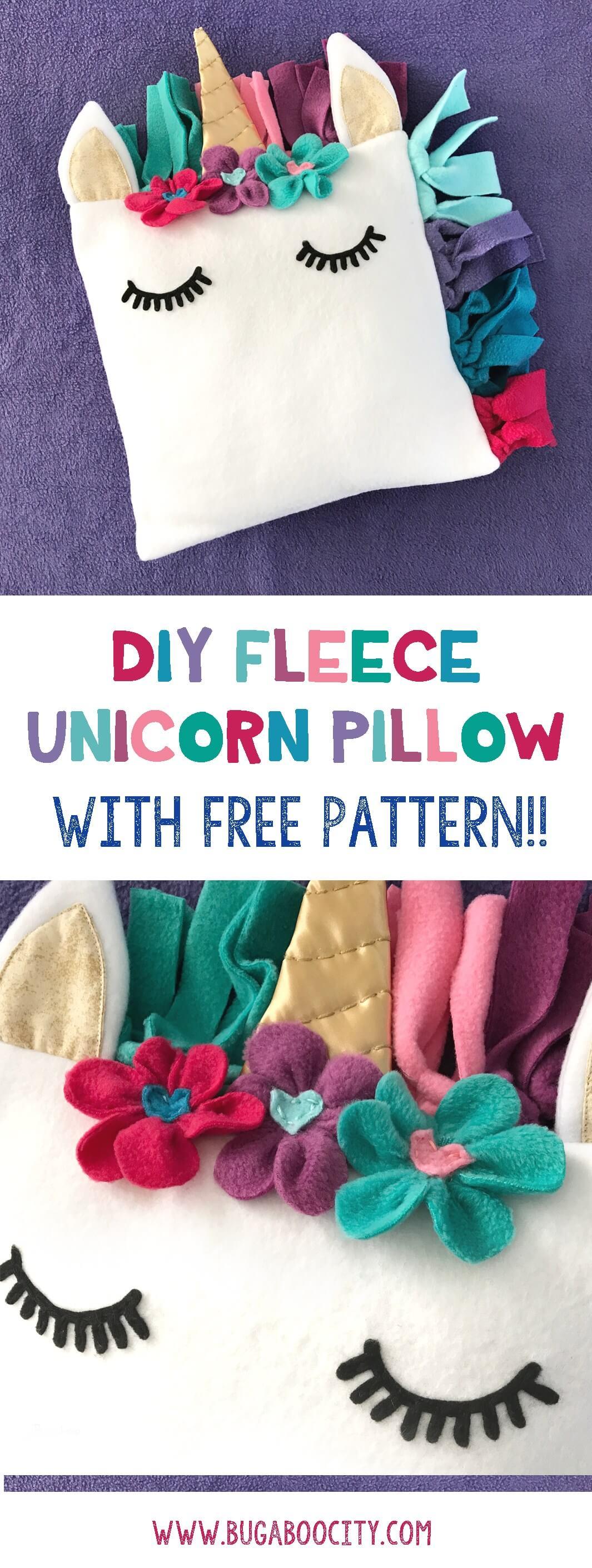 Adorable DIY Unicorn Pillow Idea