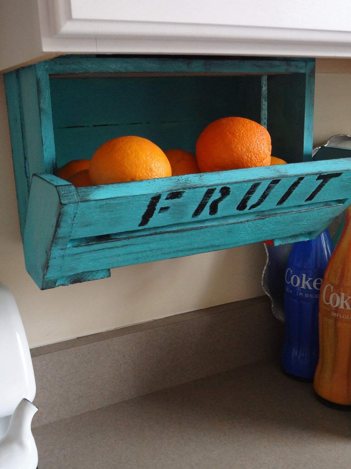 High and Dry Fresh Fruit Crate