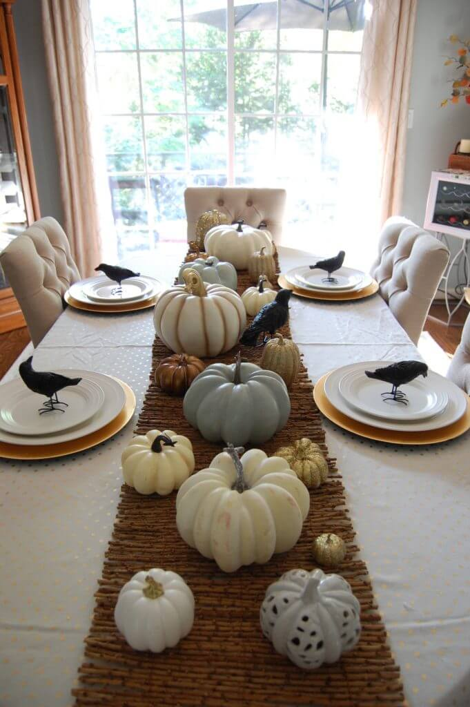 Pumpkins and Black Birds Galore