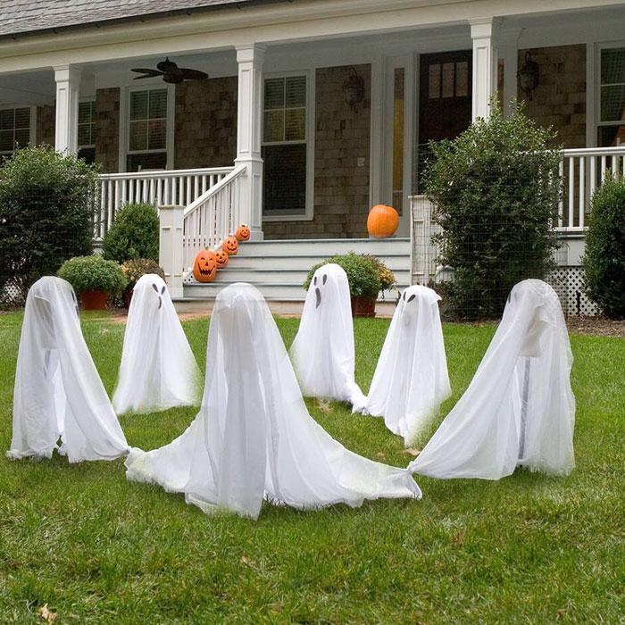 Ghosts Outdoor Halloween Decoration