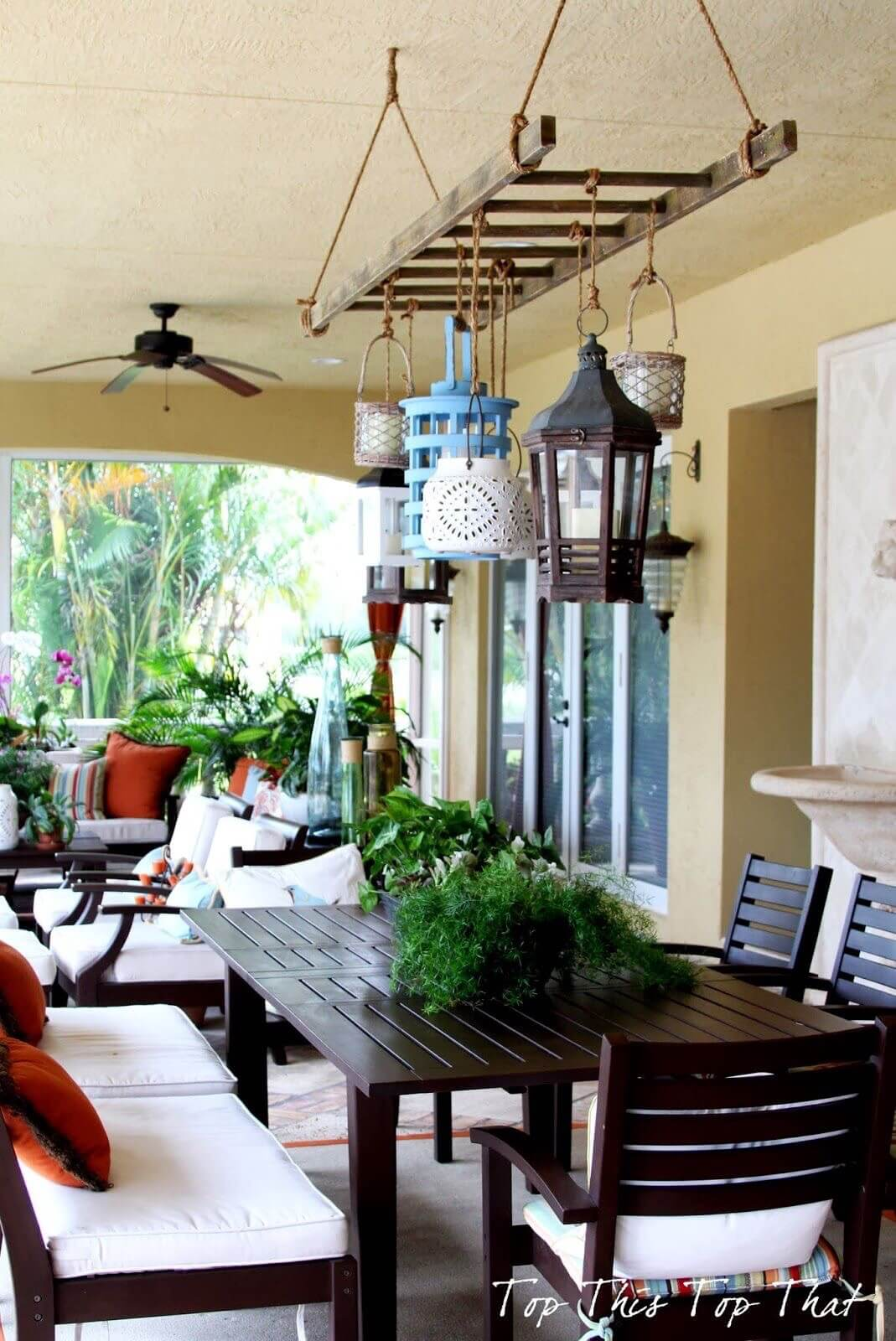 Distinctive Lighting for Outdoor Dining