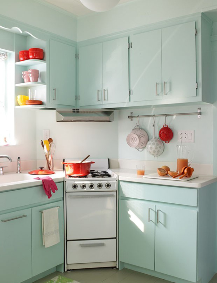 A Small Space With A Fifties Flair
