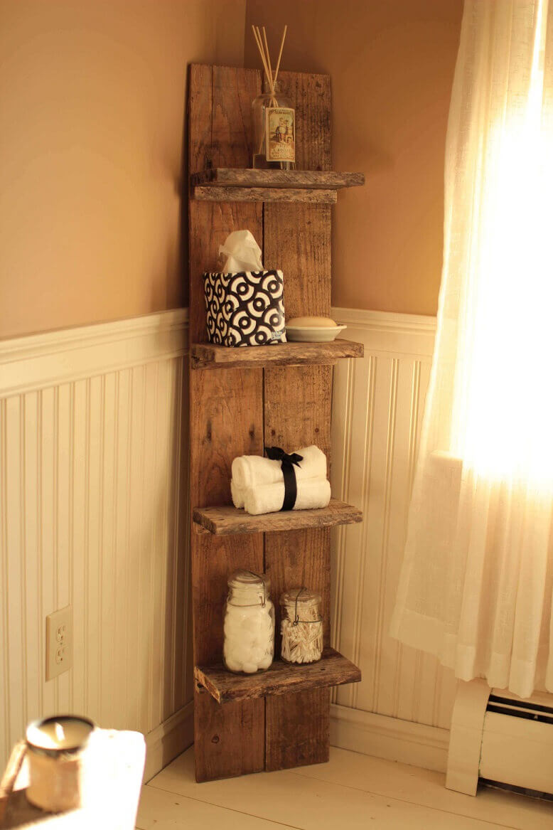 Ship's Deck Block Style Shelves