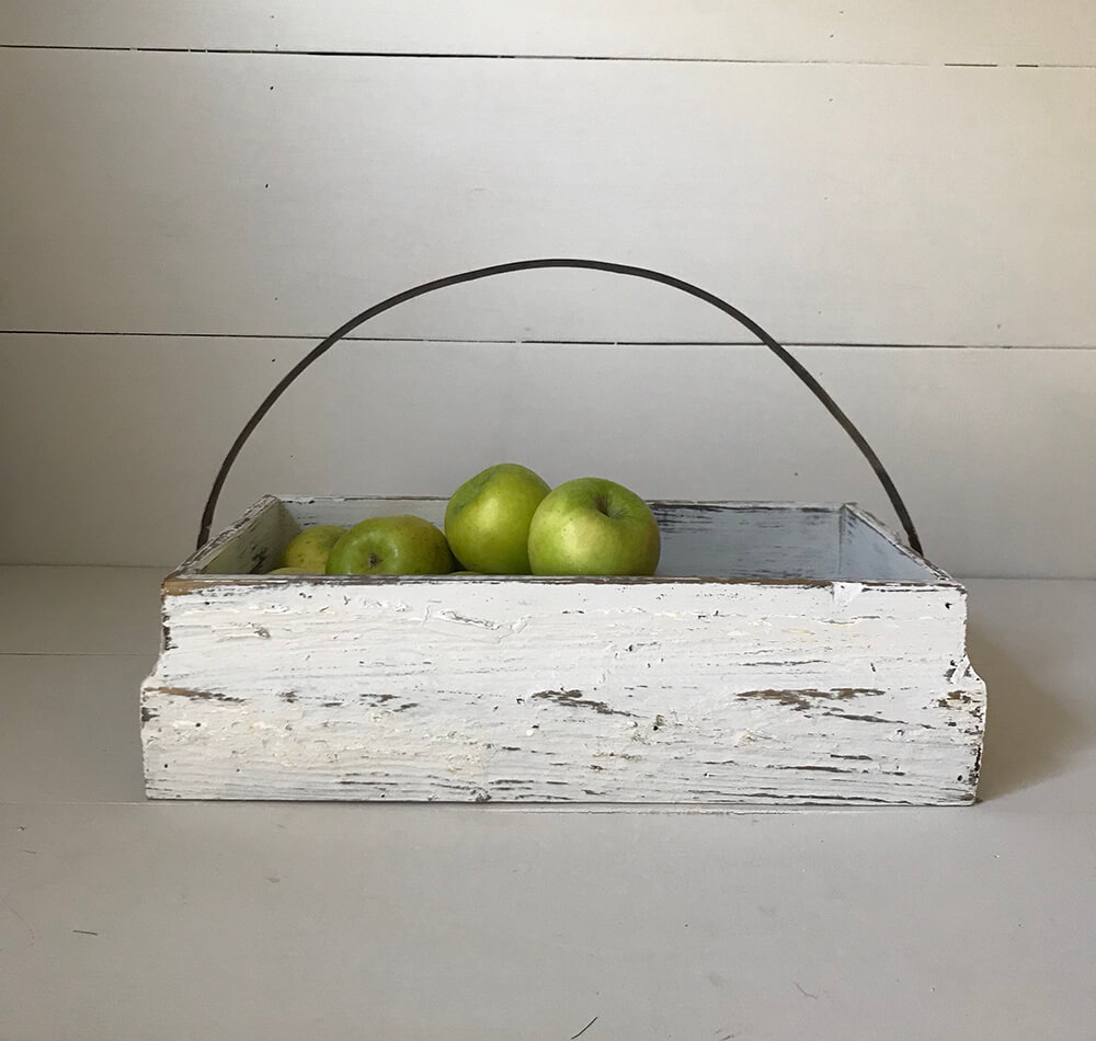 Baskets from Reclaimed Wood