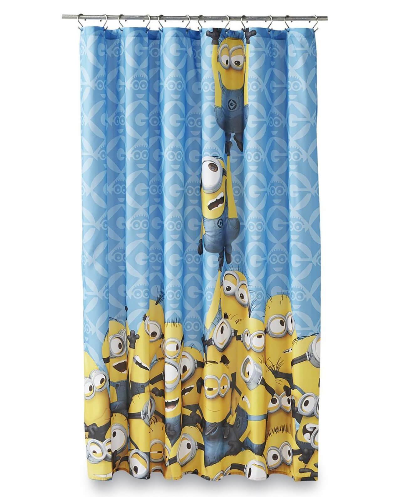 Minion Mischief Shower Curtain