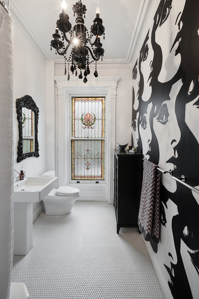Black and White and Chic All Over
