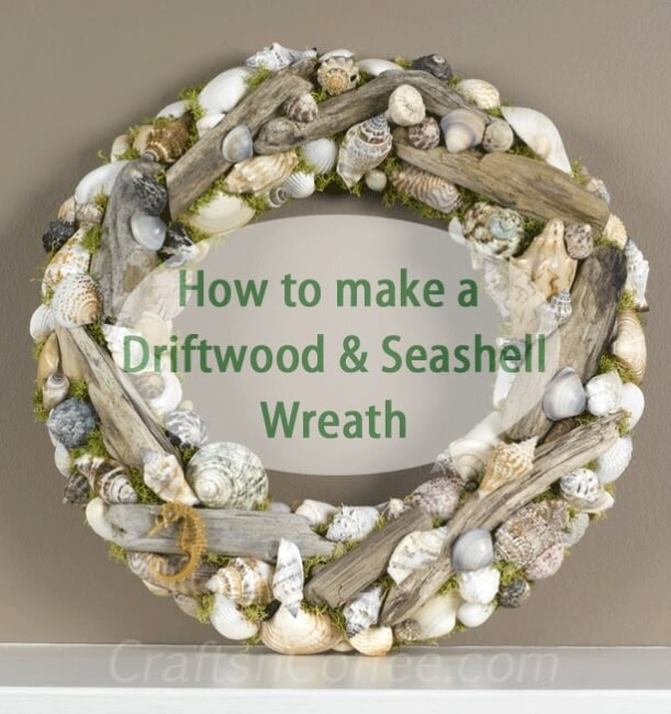 A Welcoming Driftwood and Seashell Wreath