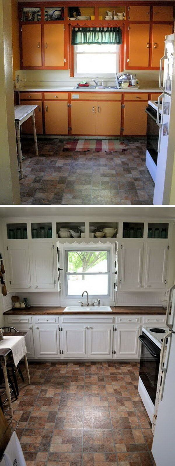 Updated Cabinets Make the Difference