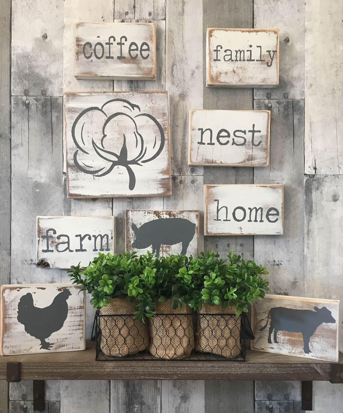 An Assortment of Cute Signs
