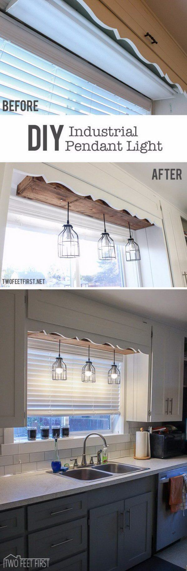 Build Your Own Rustic Pendant Fixture