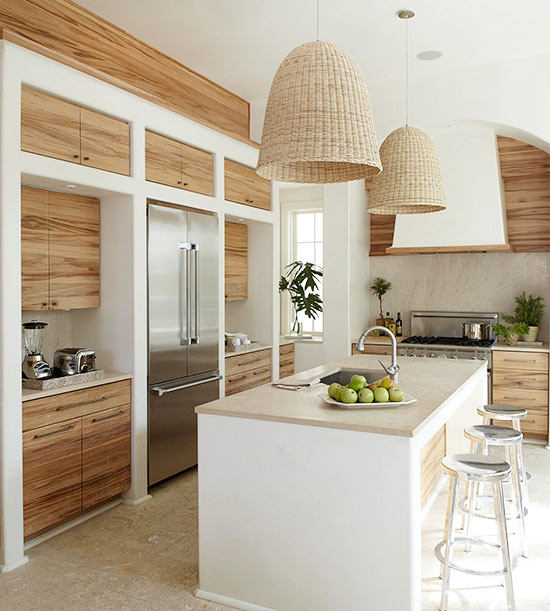 Hints of an Island Paradise Kitchen Design Ideas