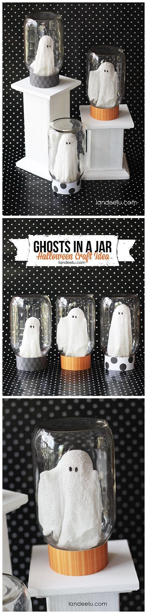 Catch-A-Ghost Halloween Craft Idea