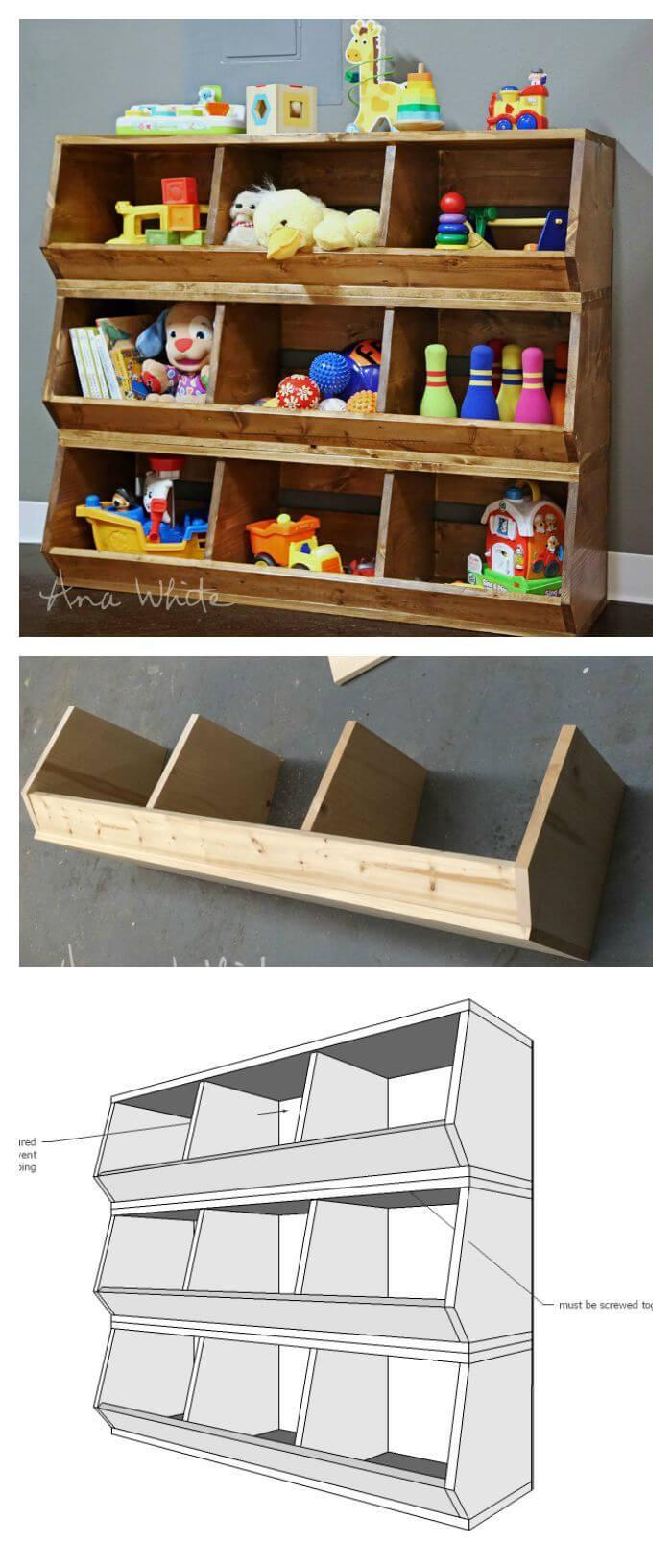Easy To Make Toy Organizer