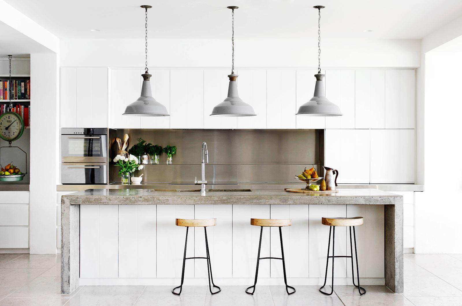 Form Meets Function Kitchen Island Idea