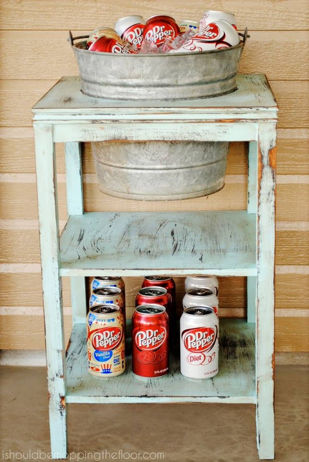 Instant Drink Station with Bucket and Soda