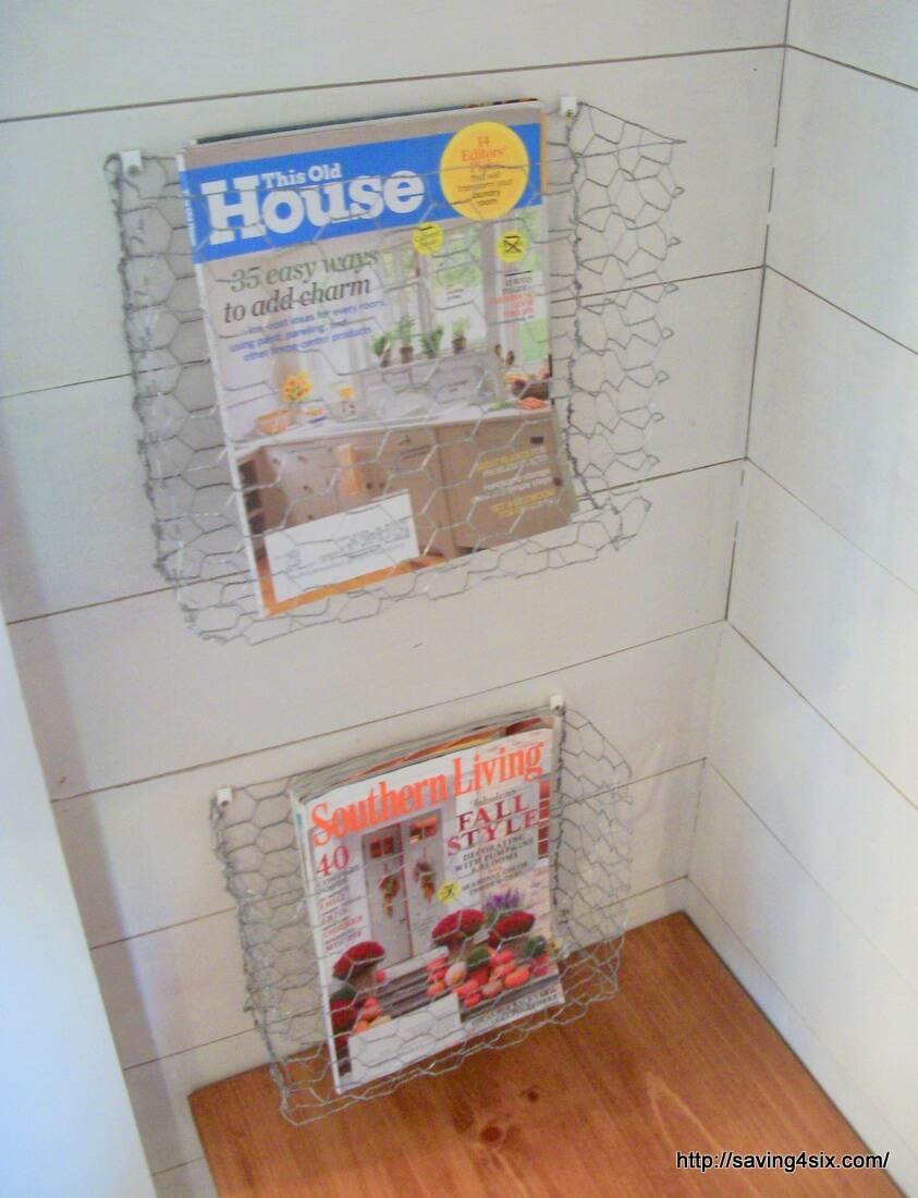 Hang Magazines on the Wall