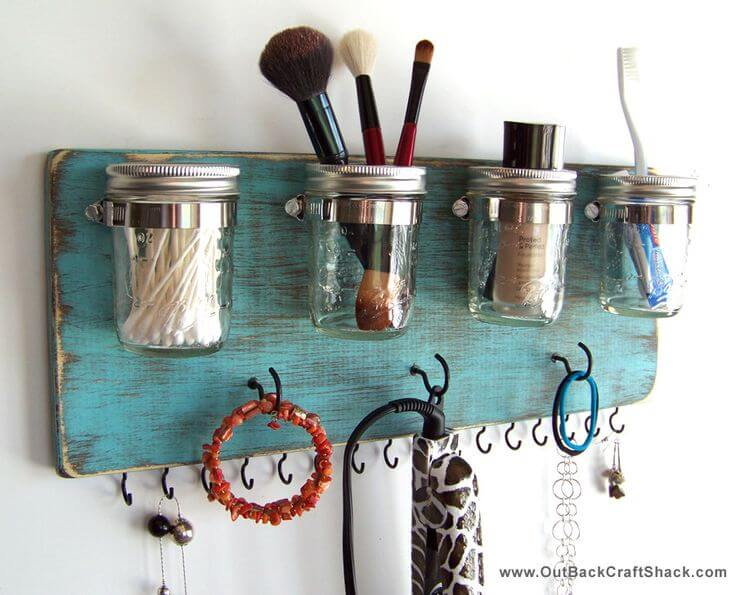 Bathroom and Jewelry Organization