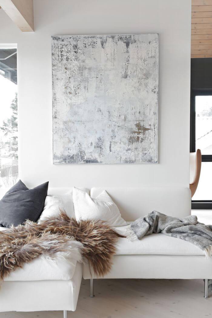 Edgy Modernist Living Room Design