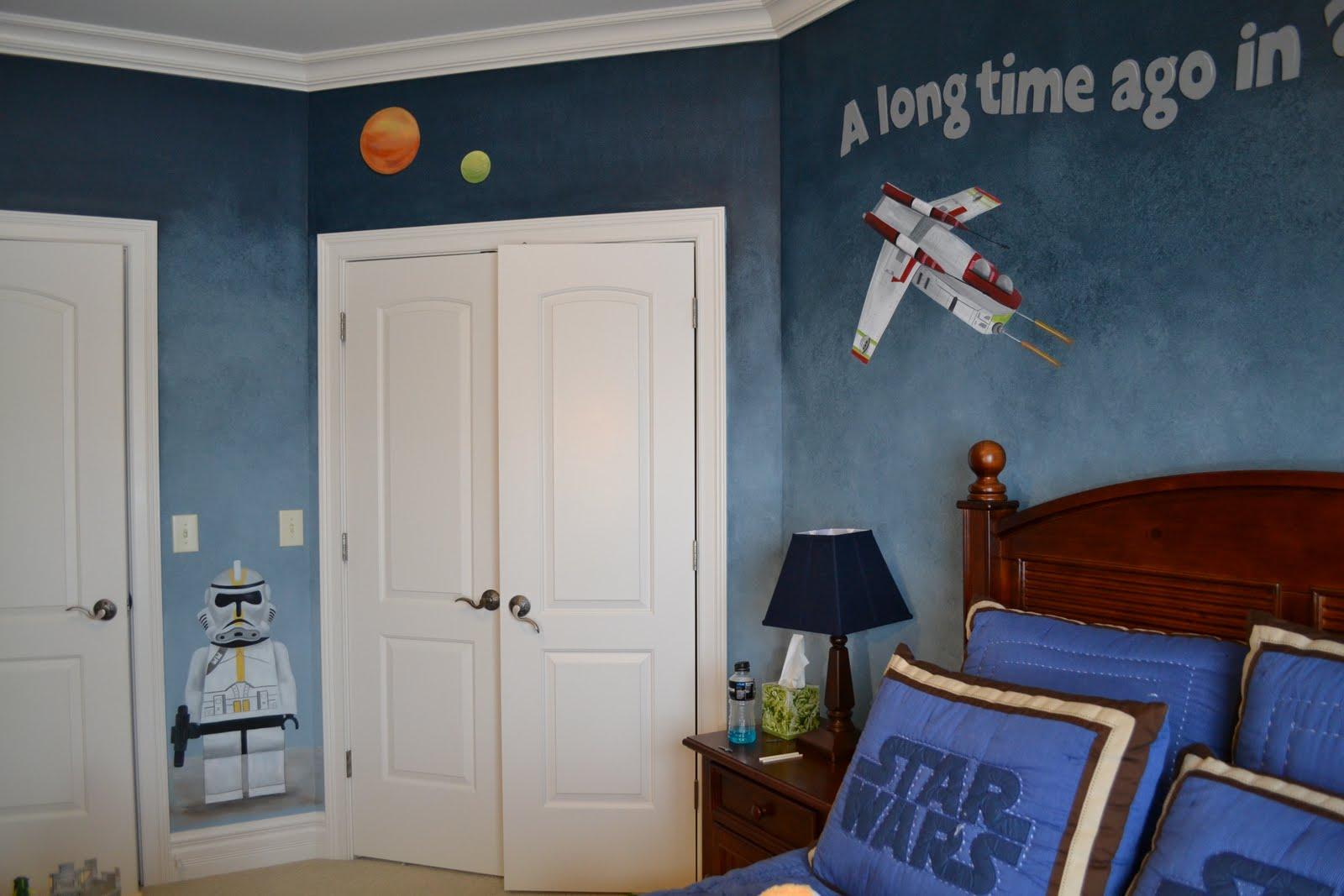 A Cute Spacey Kids Room