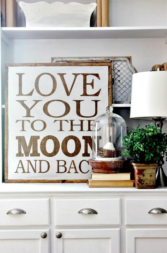 Lovely Saying for a Child's Room