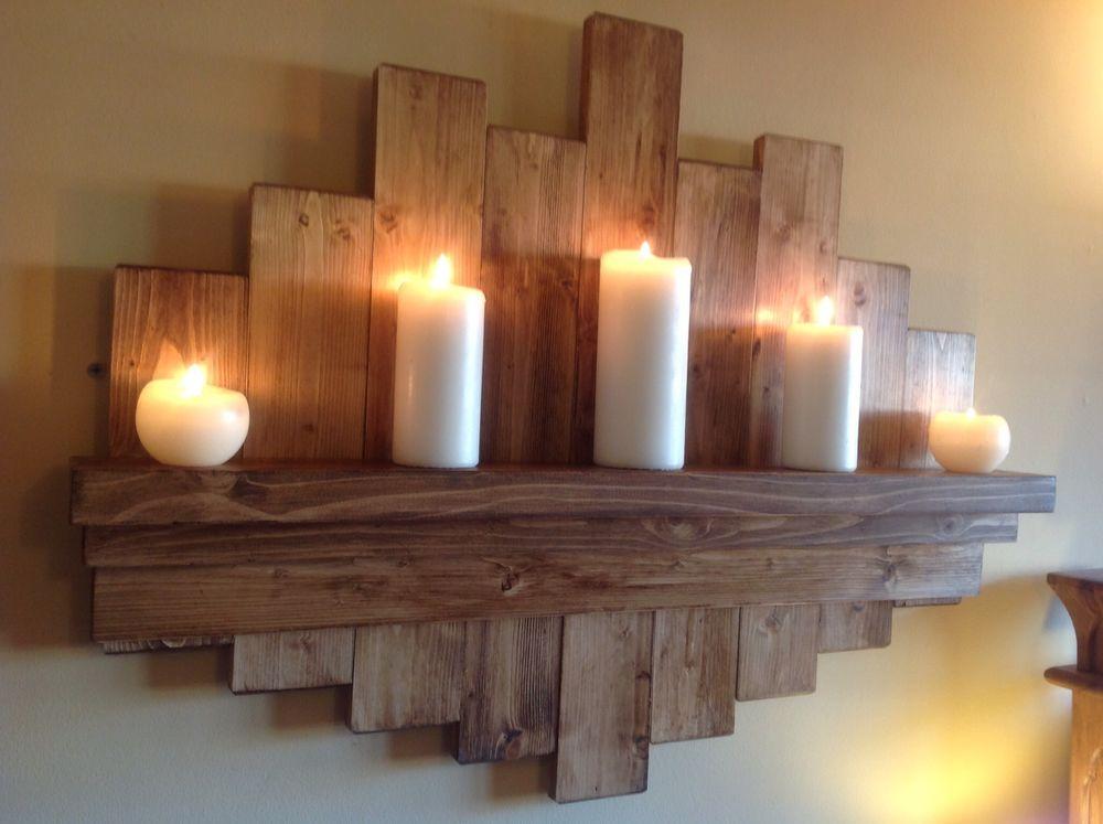Elegant and Understated Raw Wood Shelf