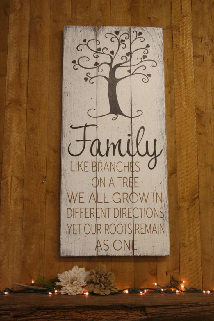 Whimsical Family Tree Wall Art