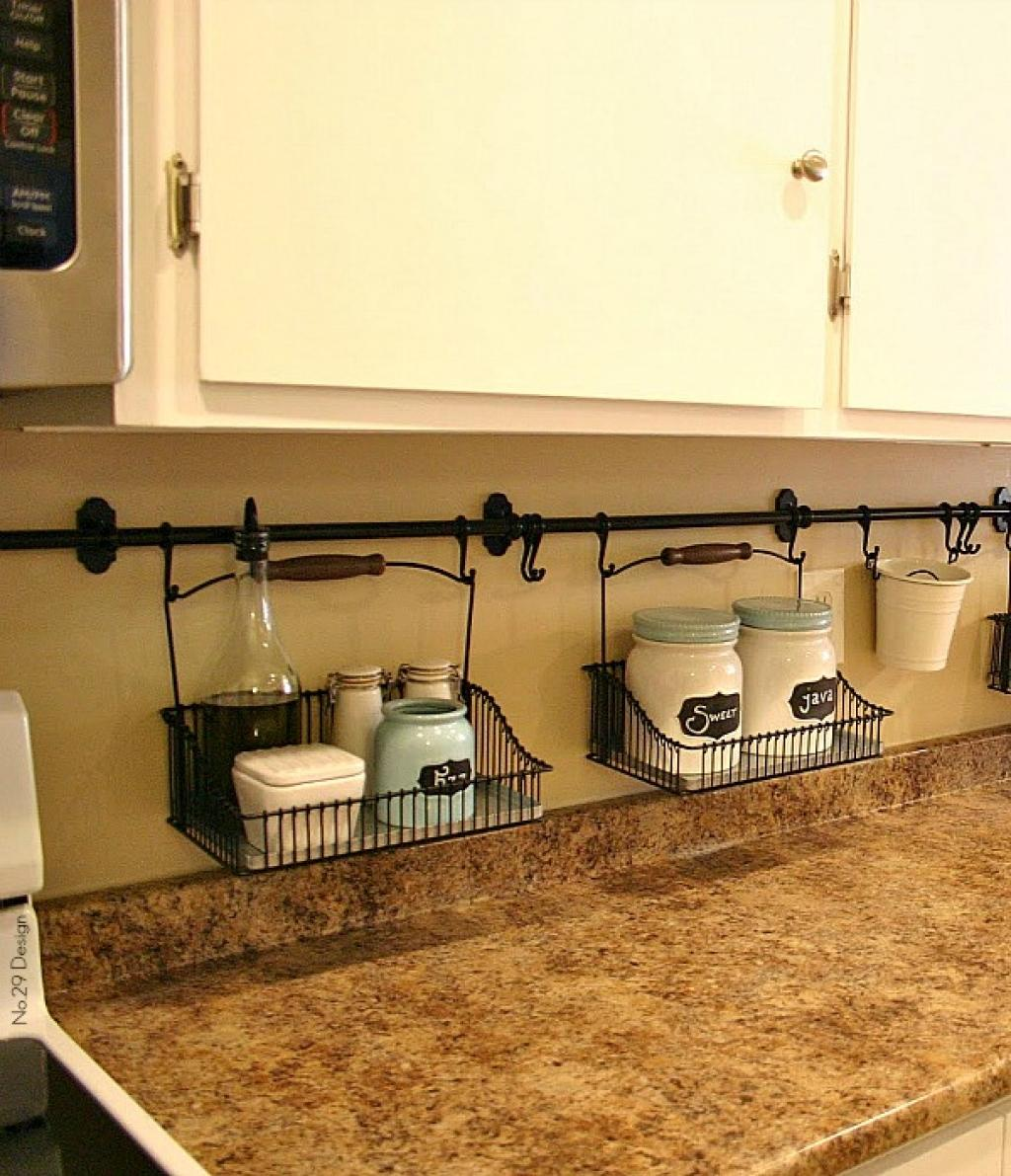 Attractive Hanging Wire Baskets Hold Items You Need On Hand