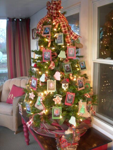 DIY Paper Bells & Picture Ornaments