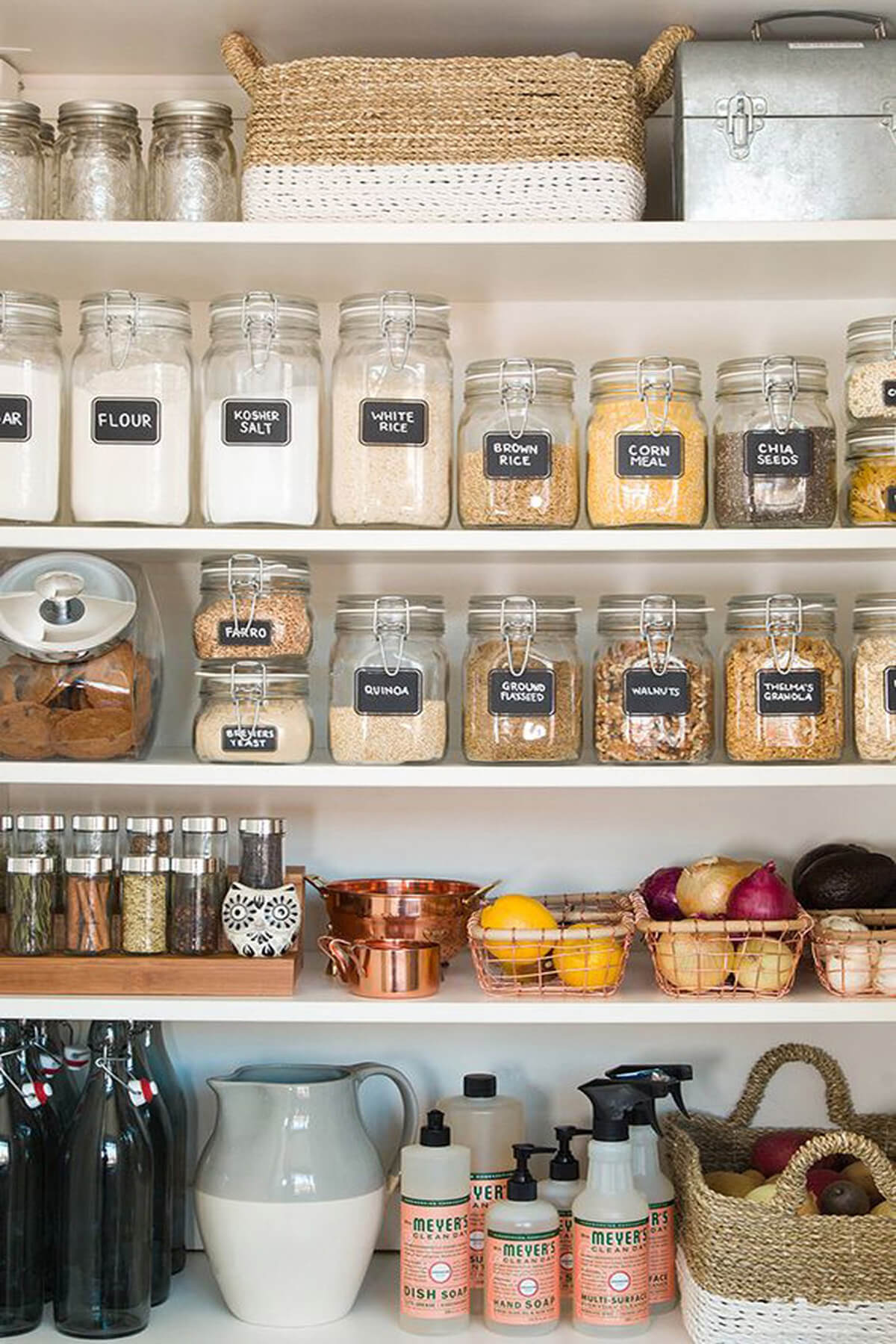 Sealing Jars with Chalkboard Labels