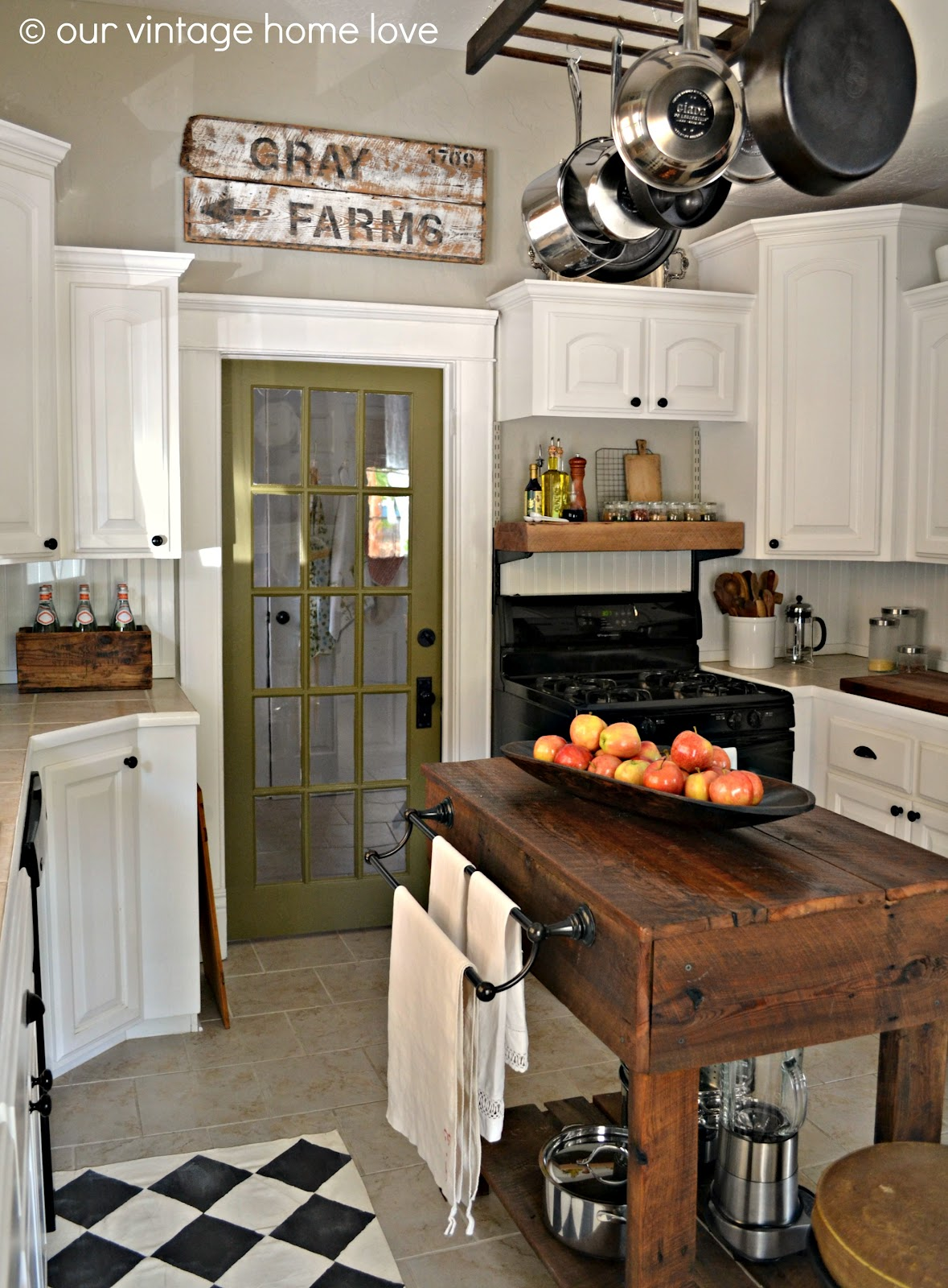 A Few Rustic Touches go a Long Way