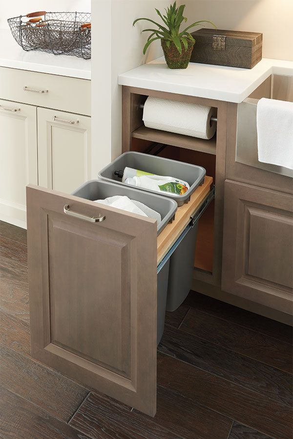 Hide Your Trash with This Custom Built-In