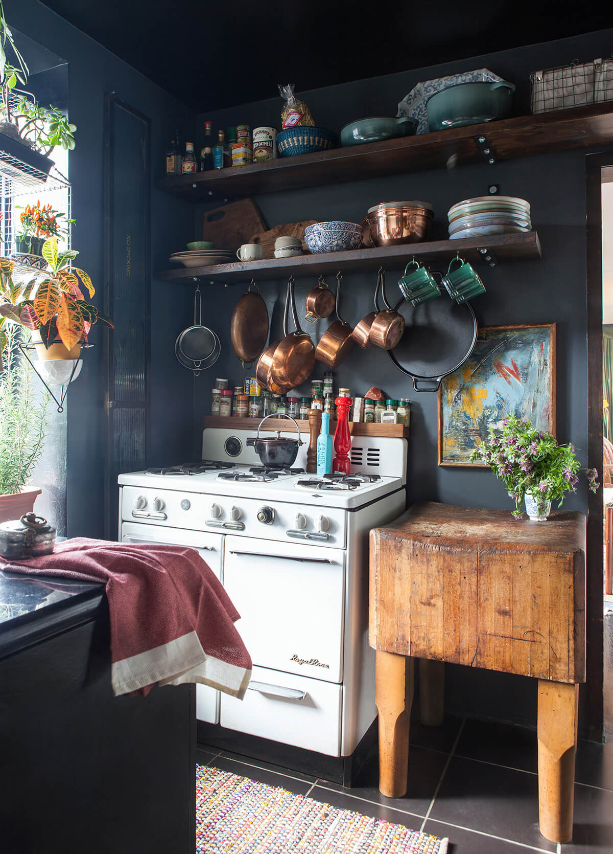 Beautiful Chaos Blue Cottage Kitchen