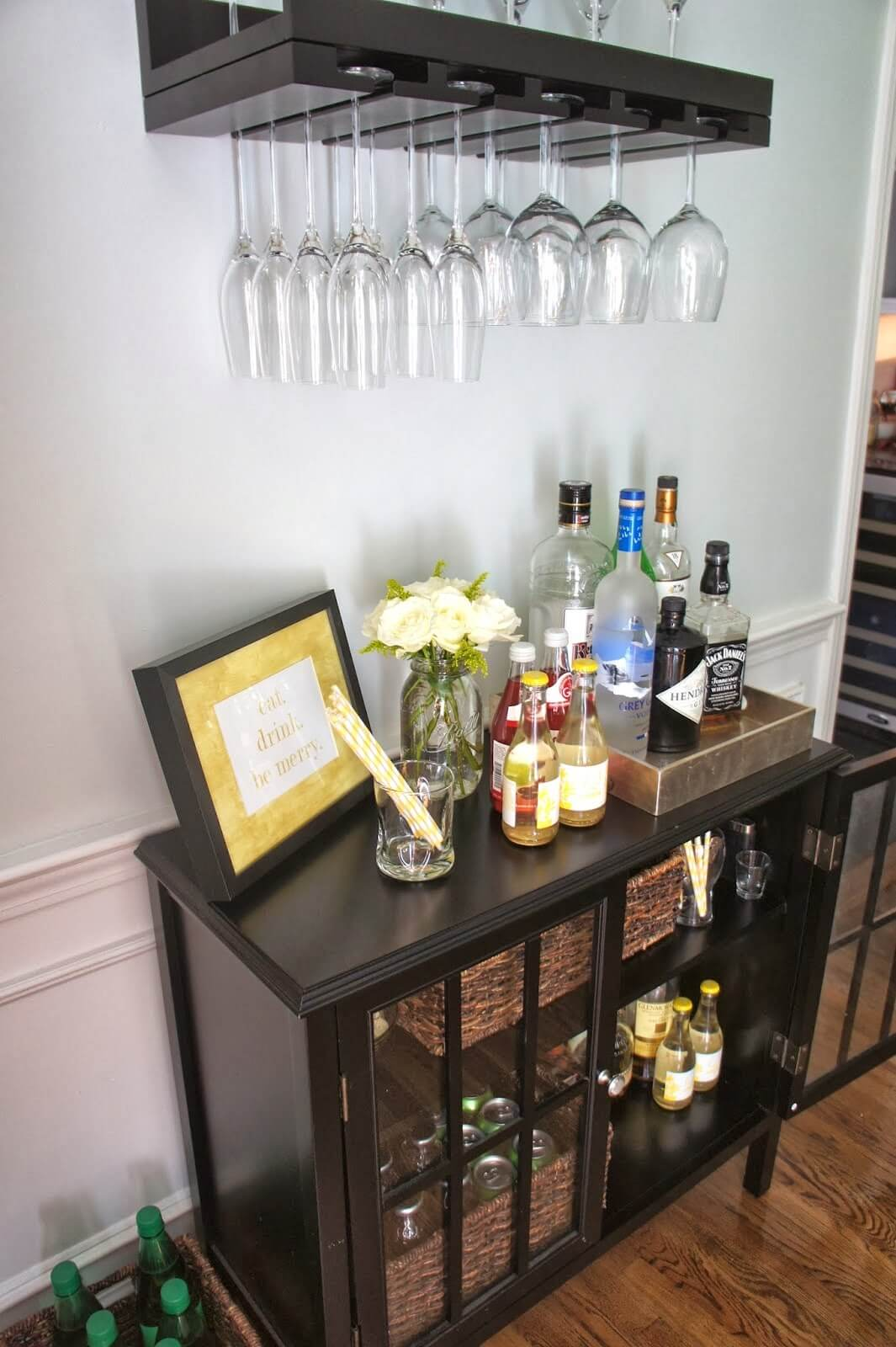 Dining Room Storage Ideas for Wine Lovers