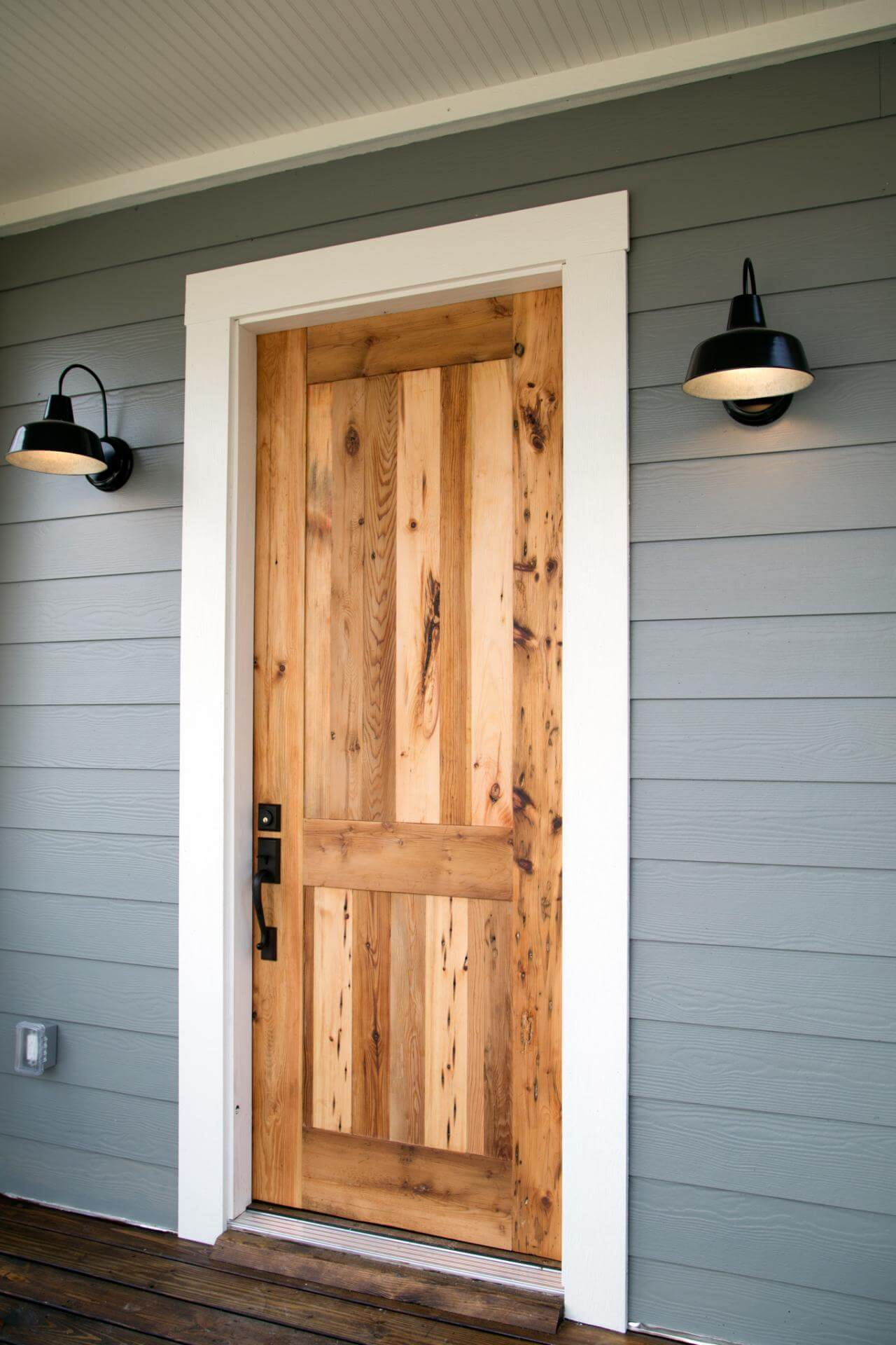 Basic Wooden Barn Front Door
