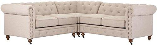 Gordon Chesterfield Sectional Sofa