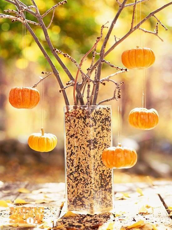 Pumpkins Make Great Ornaments