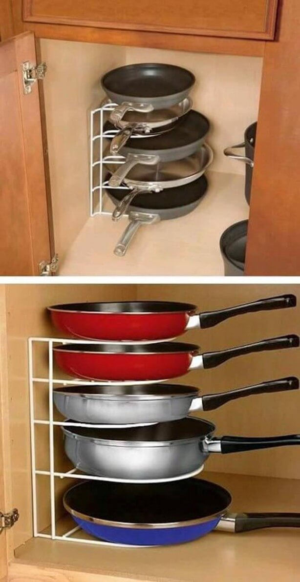 Wire Shelving For Storing Pans
