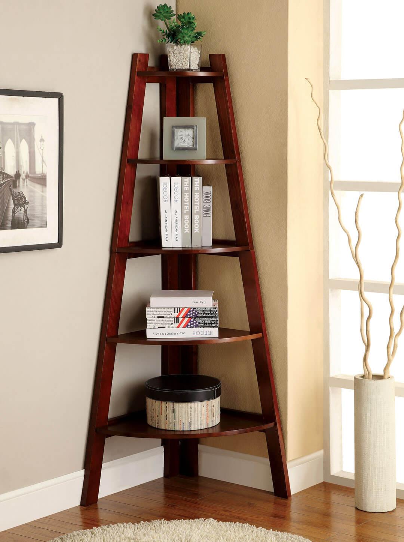 Tall and Graceful A Frame Bookshelf