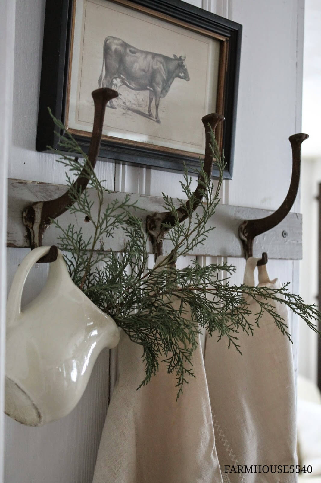 Oversized Wall Hooks with Pitchers