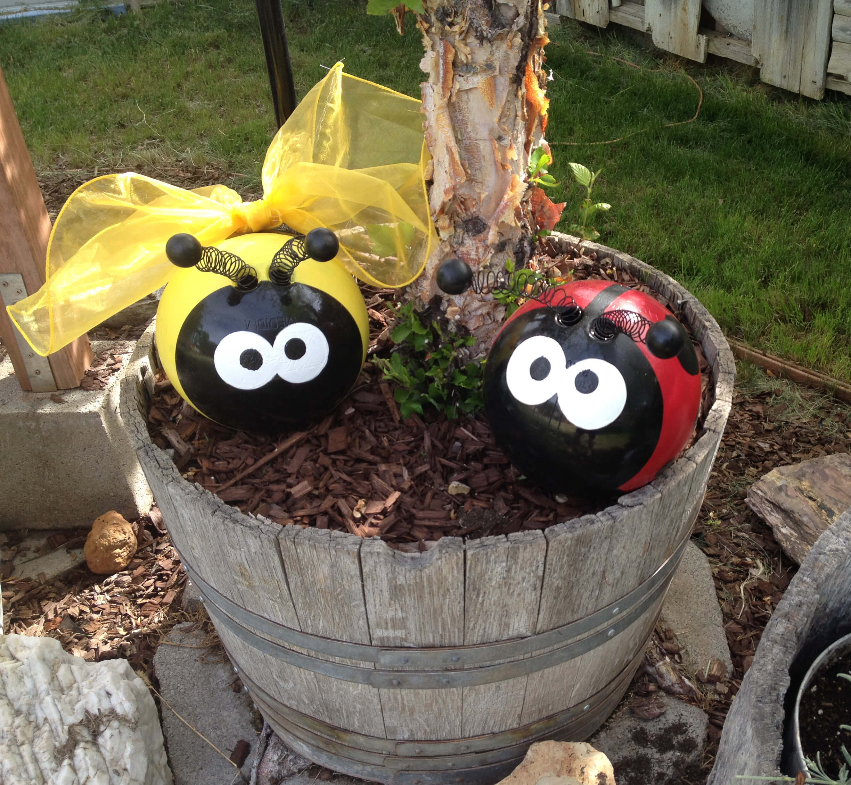 Cute Ladybugs with Spring Antennas