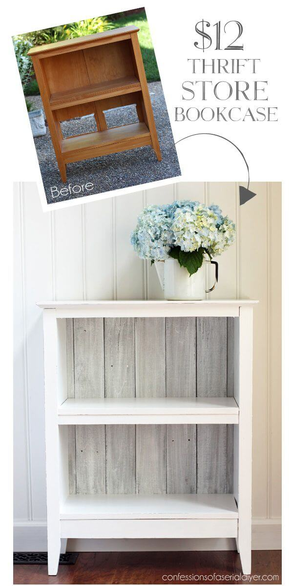 Upcycle an Inexpensive Bookcase with Paint