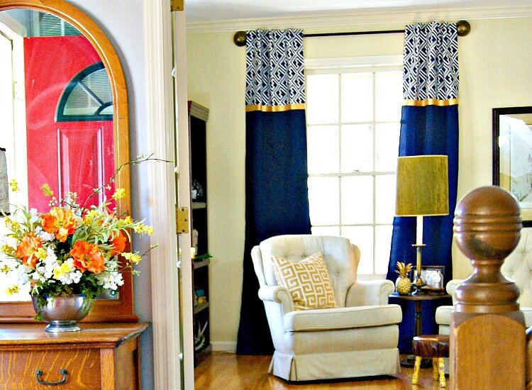 No Sewing Machine? No Problem! Try No-Sew Curtains