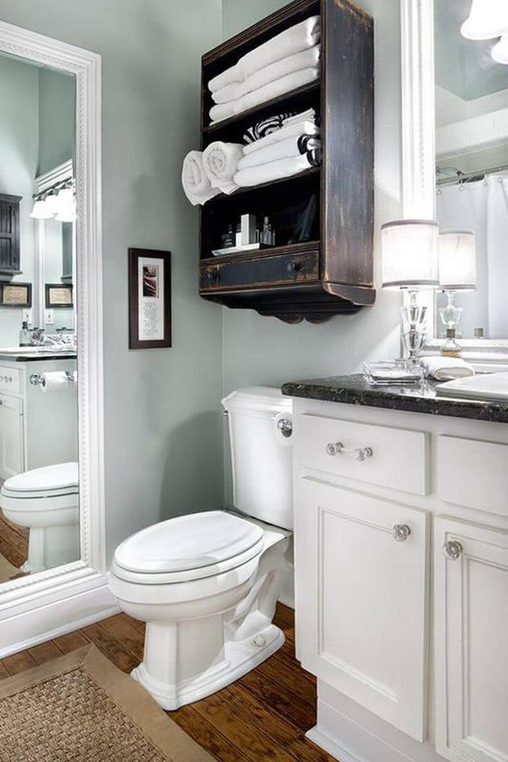 Barber's Cabinet Bathroom Shelve