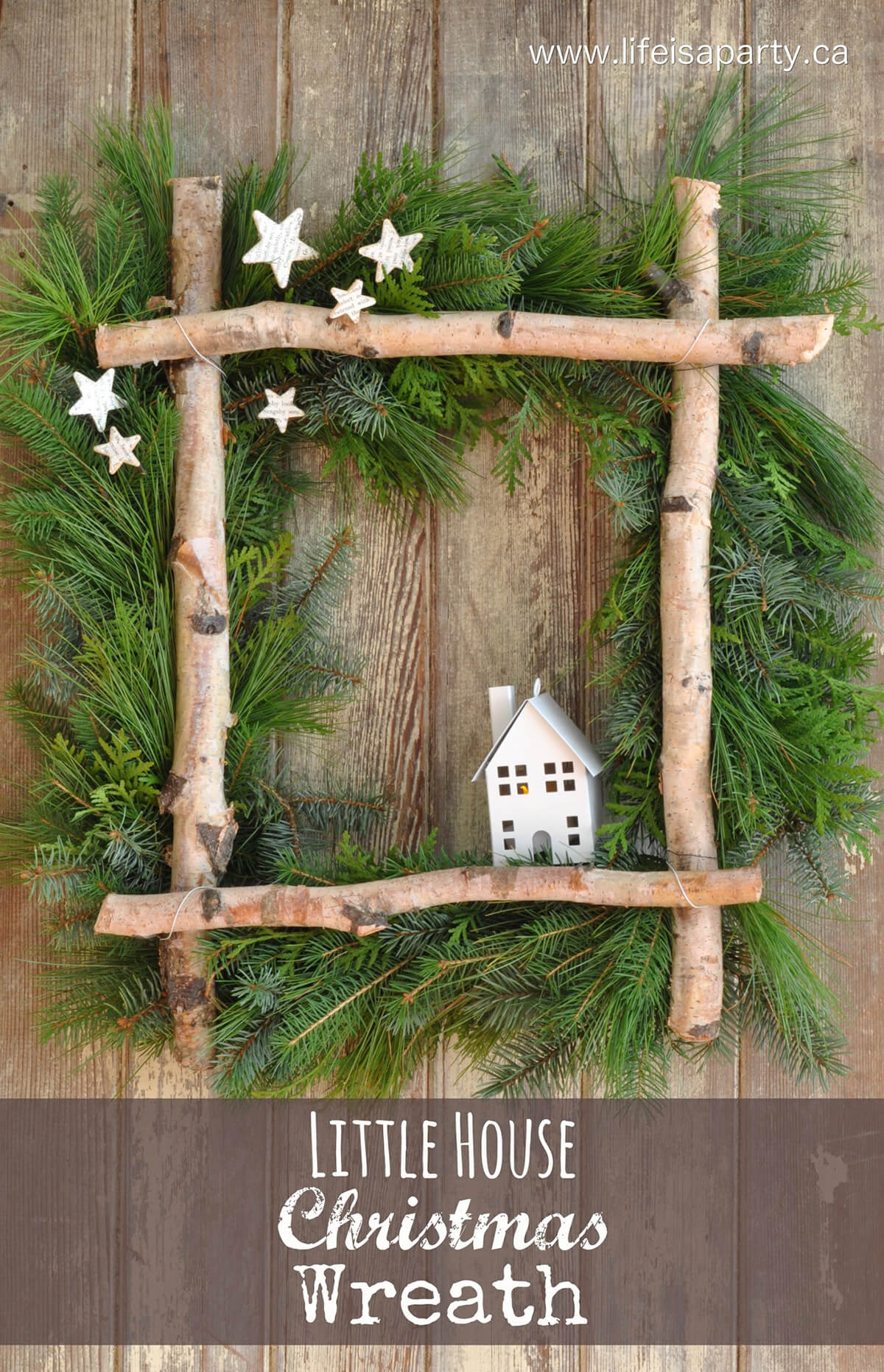 Welcome Home Woodsy Holiday Décor